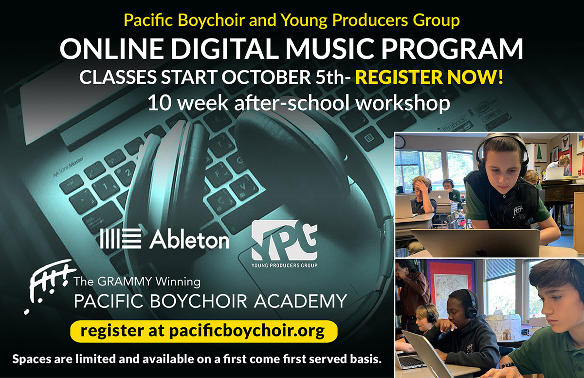Young Producers Group - Online Digital Music Program